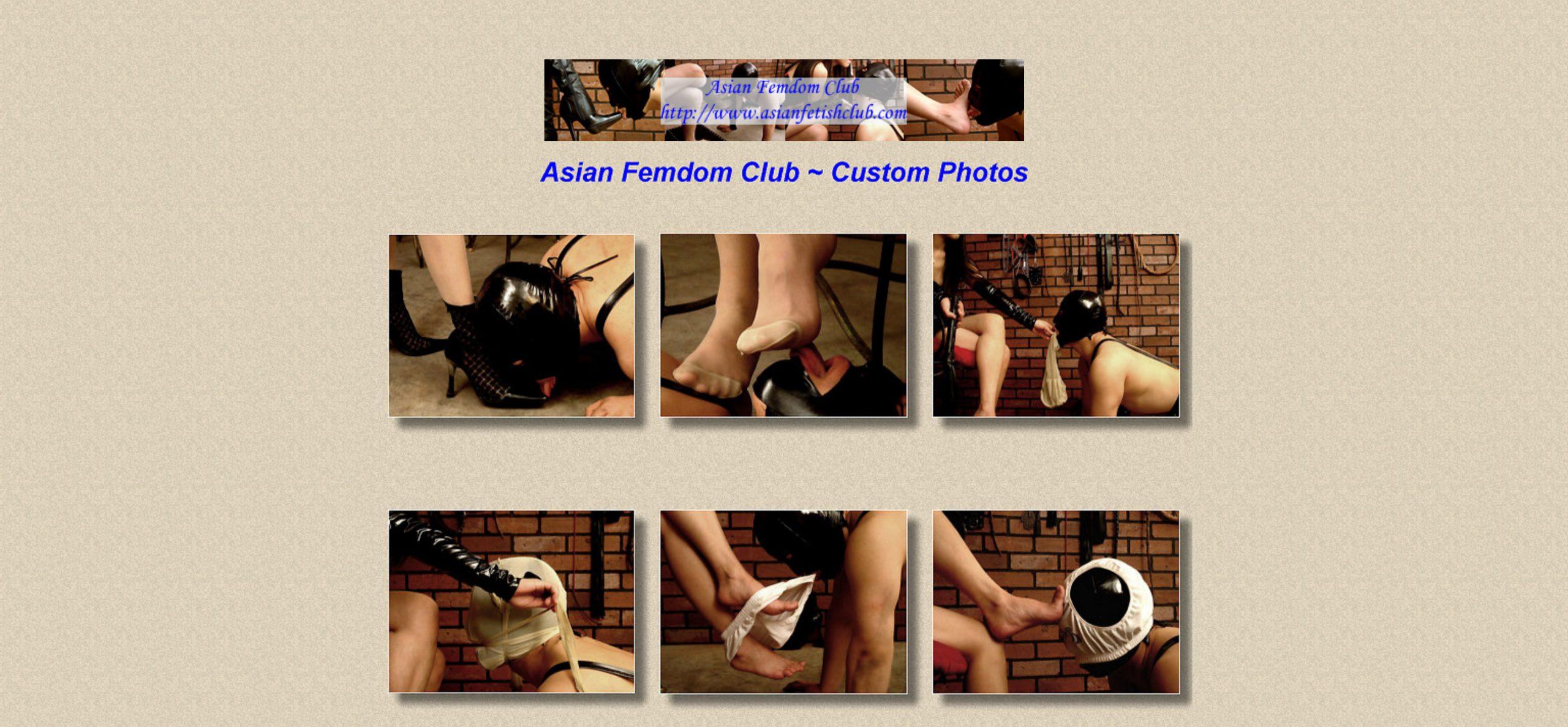 Asian Femdom Club